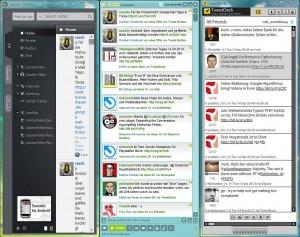 Screenshot von Twitter Desktop Clients