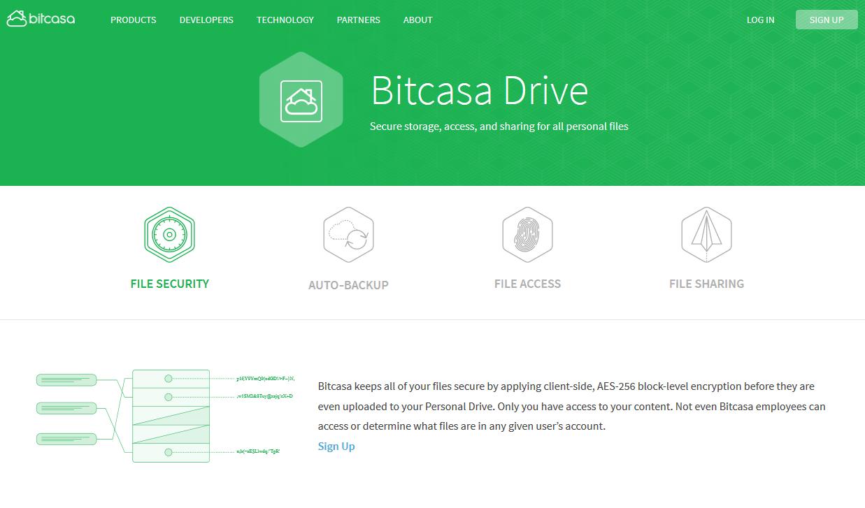 Bitcasa hat die Probleme immer noch nicht im Griff